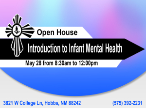 Open House and Introduction to Infant Mental Health